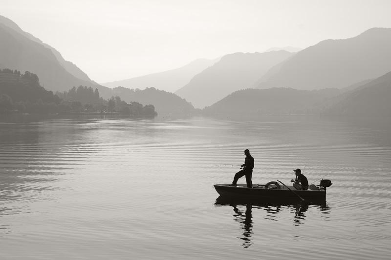 Angler am See, Lago d'Idro / Idrosee