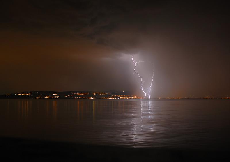 Gewitterfoto Blitz