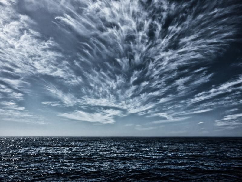 Das Meer bei Fuerteventura, Wasser, Blau