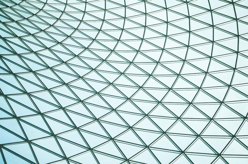 Glas, als Dachkonstruktion