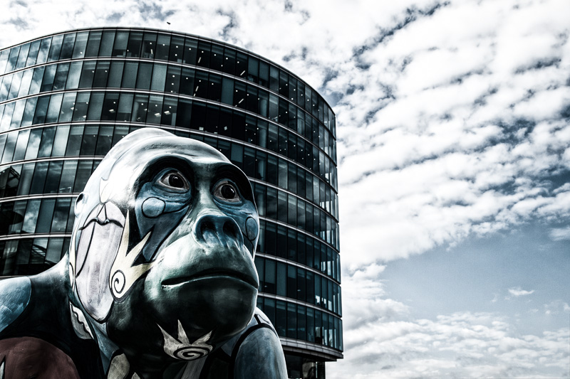 Gorilla in London
