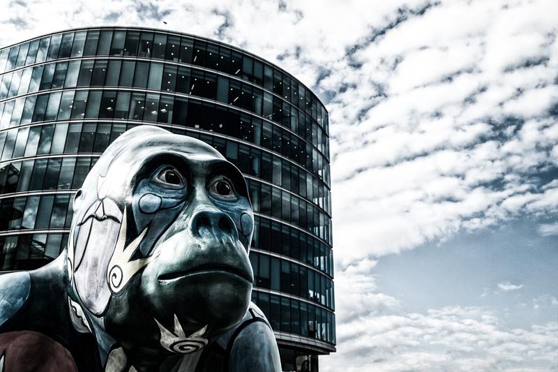 Gorilla in London