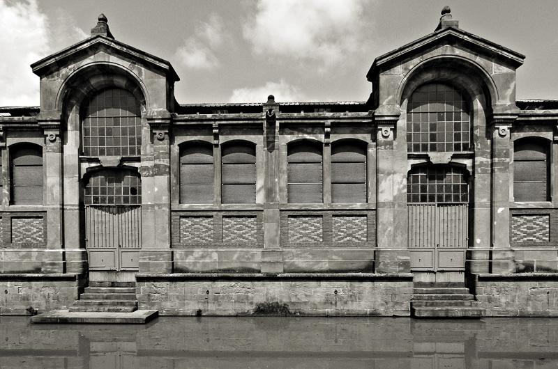 historische Markthalle in Colmar / Elsass