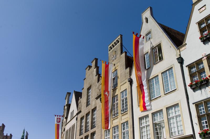 historischer Prinzipalmarkt mit Giebelhäusern
