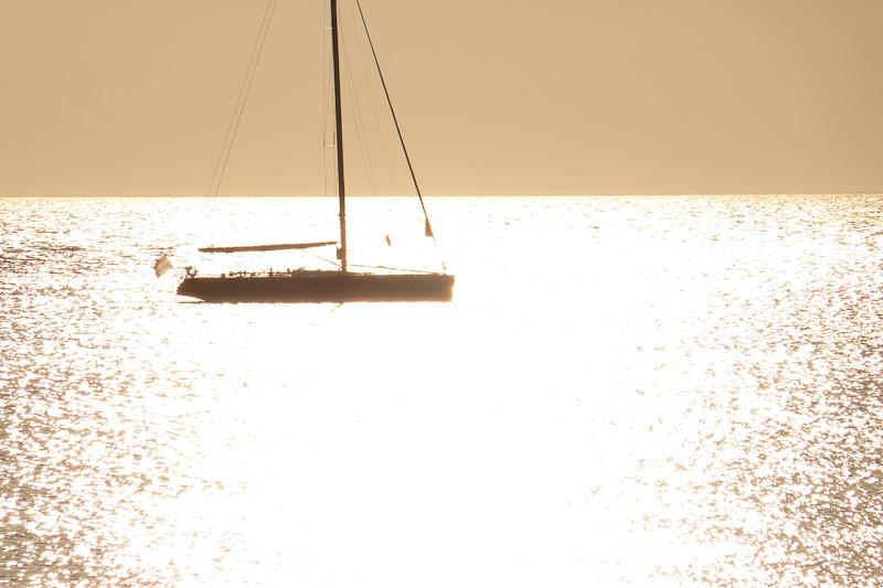boot, Sonnenuntergang