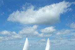 Segelfotos Ijsselmeer, Holland