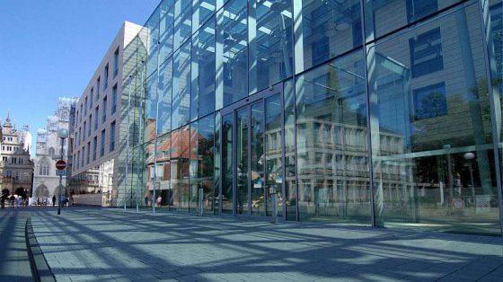 Gebäude der Bezirksregierung Münster