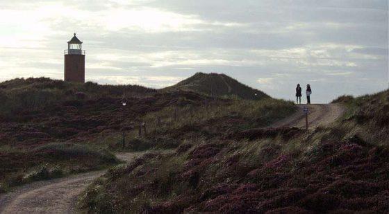 Sylt, Leuchtturm bei Kampen