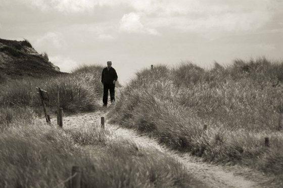 Spaziergang in den Dünen bei Hörnum / Odde