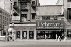 Lichtman's Bookshop, Toronto