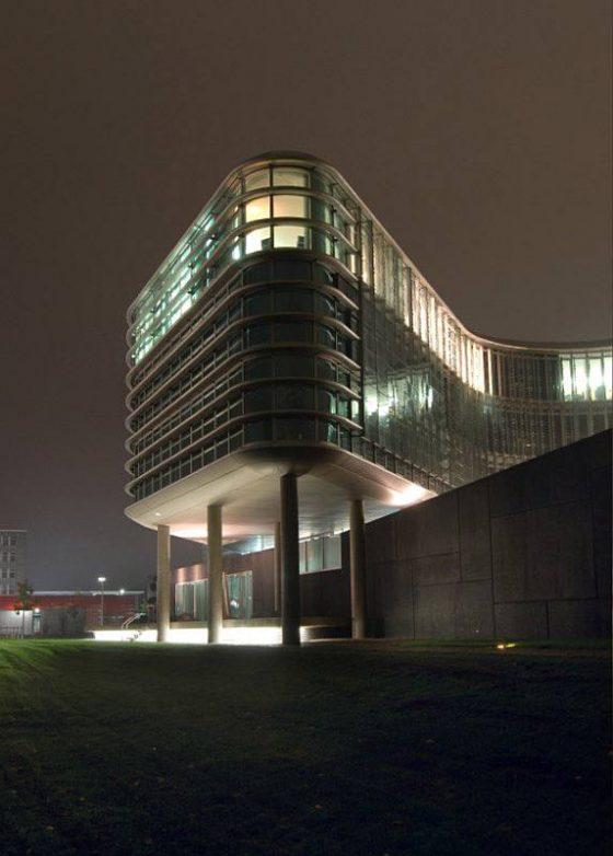 Zentrum Nord, Sparda Bank, Nachtfoto