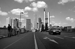 Frankfurt, Skyline, Wolkenkratzer