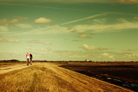 Radtour auf Sylt / Rantum