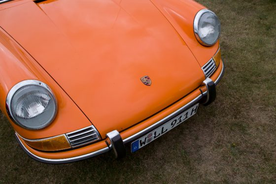 74er Porsche 911 Oldtimer, orange