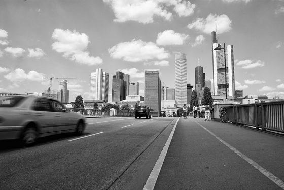 Frankfurt, rush hour