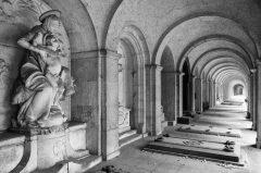 Frankfurt, Hauptfriedhof, Gruftenhalle