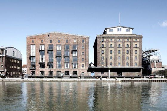 Kreativkai Münster, ehemaliger Hafen