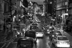 London, Piccadilly, Nachts