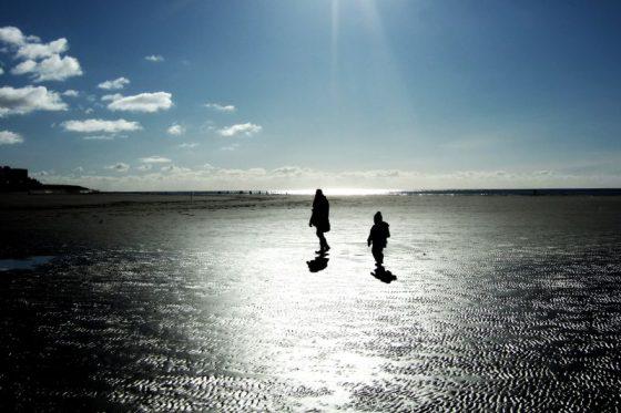 Am Strand, Borkum