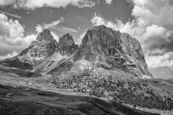 Am Sellajoch, Südtirol, Lankofel