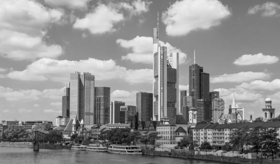Frankfurt am Main Skyline,