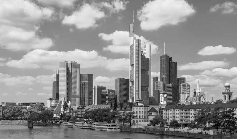 frankfurt am main skyline fotografie von stefan wensing. Black Bedroom Furniture Sets. Home Design Ideas
