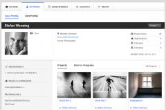 Online Portfolios gestalten mit Behance Prosite als CMS