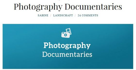Filme und Reportagen rund um das Thema Fotografie