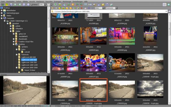 Lightroom Workflow, Vorsortieren von großen Bildermengen mit Faststone