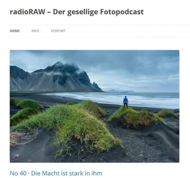 RadioRAW, der gesellige Fotopodcast