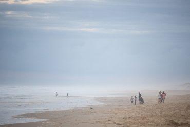 Am Strand in Südfrankreich