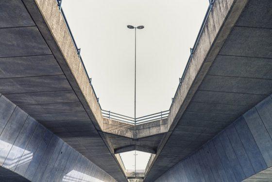 Beton, Torminbrücke am Aasee in Münster