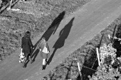 Spaziergang im Weinberg