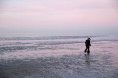 Einsamkeit, Alleine, Im  Wattenmeer
