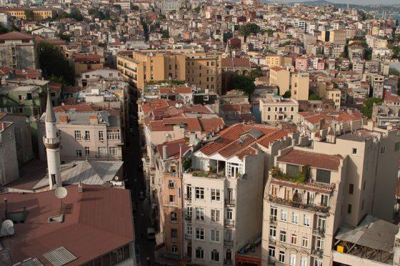 Istanbul Altstadt Häuserschluchten, Türkei