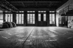 Zeche Westfalen in Ahlen, Maschinenhalle