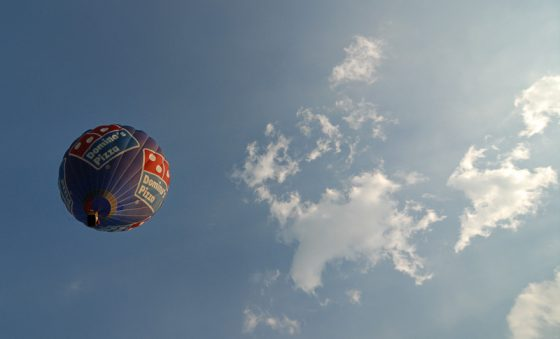Montgolfiade Münster, Heissluftballon