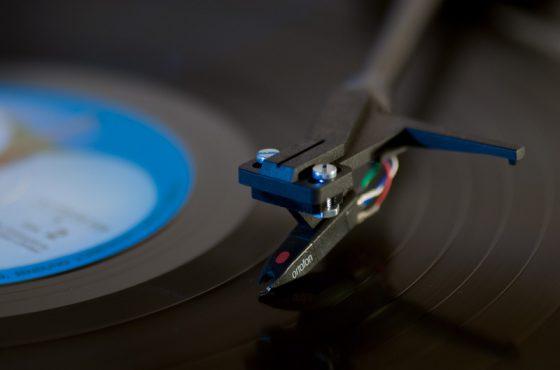 Plattenspieler, Schallplatte, Listen to Abby Road