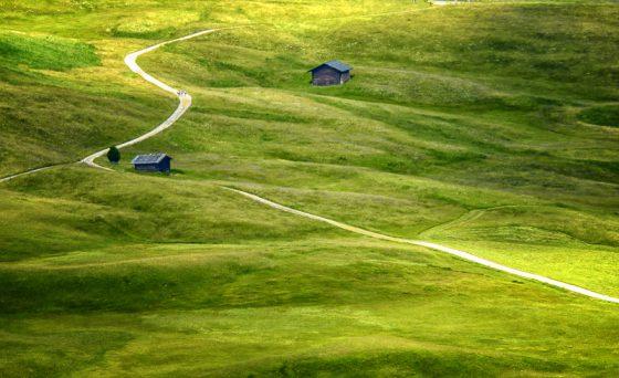 Wanderweg, Seiser Alm