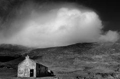 Die alte Hütte in Irland