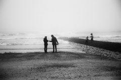 Herbstwetter, Norderney, Familie